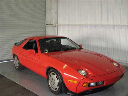 1986 Porsche 928S For Sale Red