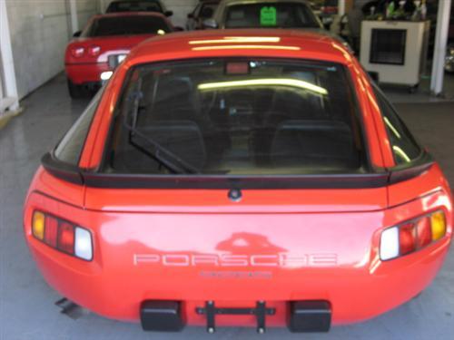 1986 Porsche 928 For Sale Rear