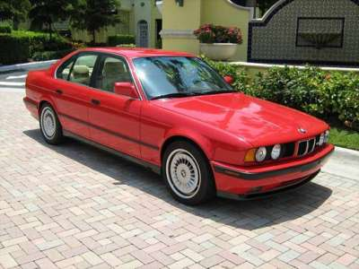 1991 BMW e34 M5 Red For Sale