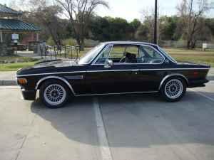 Black 1973 BMW 3.0CSL For Sale Batmobile
