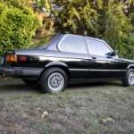 1983 BMW e21 320i Black