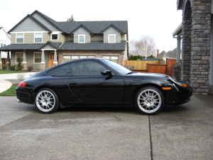 1999 Porsche Carrera 911 Black BBS