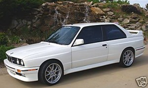 1991 BMW e30 M3 Alpineweiss