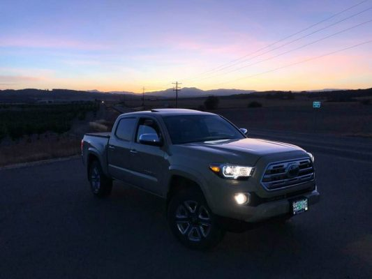 2019 Toyota Tacoma Limited Quicksand